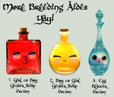 New Potions!! - Moar Breeding Aides by DRACODOPTABLES