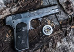 A Colt Classic - 1903 Pocket Hammerless by spaxspore