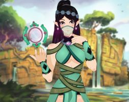 Ying, The Blossom (Paladins) by JULIA-CS