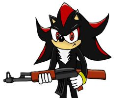 Shadow the Hedgehog by chipface-zero