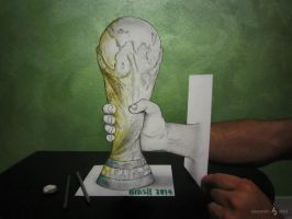 World Cup Drawn by AlessandroDIDDI