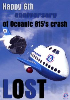 6th anniversary of Oceanic 815 by HalaAyoubi