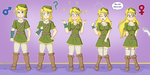 Link Transformation (Gender Bender) by TheMaskofaFox