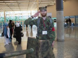 Some Soldier - Otakuthon 2014 by J25TheArcKing