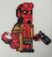 Hellboy by IAmArkain