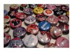 ANIME NORTH LEFTOVER BUTTONS by shuushuu