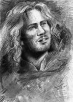 Faramir sketch by SirSubaru