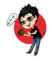 Markiplier ::chibi:: by autome