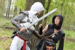 Assassins creed - The battle by DarkDivineOne