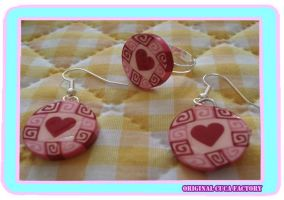 Hearts set by cuca-factory
