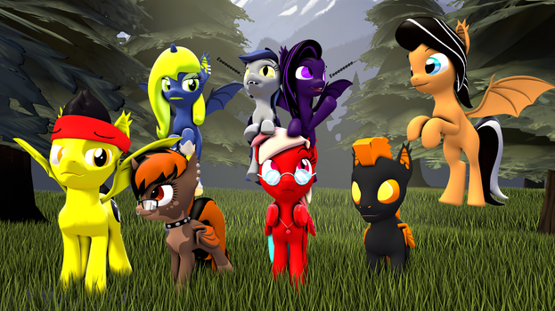 World of batponies v2 by grzes4000