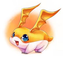 Patamon by Vermeilbird