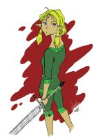 I'm a Elf warrior ? by IndioBlack619