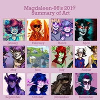 Summary of 2014 by Magdaleen-96