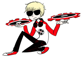 Dave Strider by Dice-x