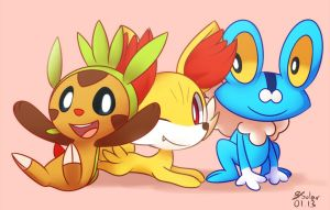 Generation Six Starters by Bukoya