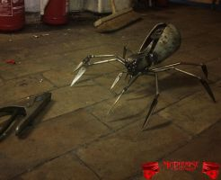 Metalpunk Spider by Madhouse-Customs