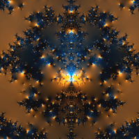 Tree of Suns and Moons by FractalBlaze