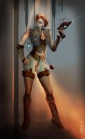 Game character DukeNukem female version by dividedmind