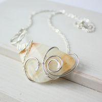 Sandy Shore necklace by WhiteSquaw
