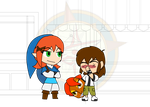 Chibi Chain - Alien Attack - Off but not Out by Dragon-FangX