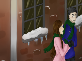 Baby it's cold outside by Doridachi