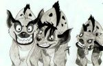 The Hyenas! by HazelNutsandCream
