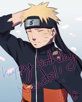 Happy birthday Naruto by DaiKai