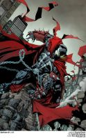 spawn 200 cover DAVID FINCH fco plascencia by fco