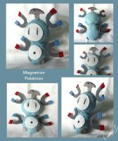 Magnetron plushie by I-Am-Bleu