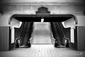 Subway Opernplatz by millerneutron