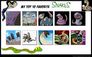Top 10 Favorite Snakes Meme by Camilia-Chan