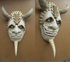 Dasypus Mask 09 by ClaudioTurcovich