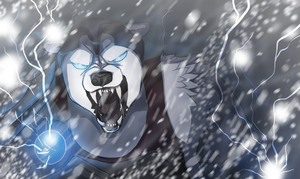 The thunder's roar by CrookedLynx