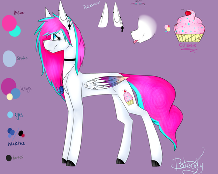 Bloody Cupcake Ref sheet 2.0 by BloodyCupcake42