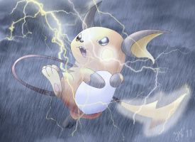 Thunder Mouse by Joana-the-Raichu