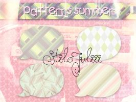 Summer Patterns by StiloJuliii