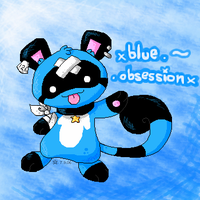 .blue . obsession. by crayon-chewer