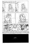 Casimir Effect page 6 inks by LeighWalls-Artist