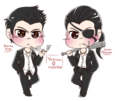 Ex-Yakuza Boys by Rugi-chan