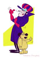 Dick Dastardly and Mutley by tati-ponytail
