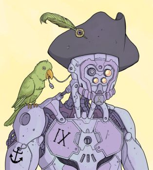 Piratebot by Nuclearpasta