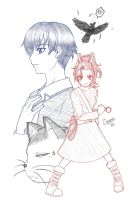sketch. arrietty the borrower by maioceaneyes