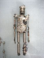 Mechanical Tin Man by InsomniousMachinist