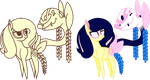 Book Ponies Paradise and Belle [PC] by BrowniesAndPudding