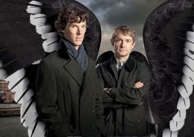 Sherlock's Guardian Angel by KickAir8P