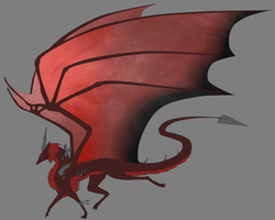 CE- Gem dragon WIP by CrystalCircle