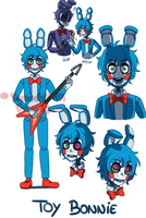 [FNAF2 HUMAN VERSION] Toy Bonnie by YumeChii-NI