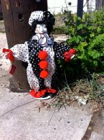Creepy Clown in my Driveway by kevinbolk