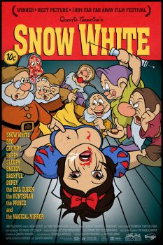 PopArt Movie Mashup: Pulp Fiction - Snow White by Bergie81
